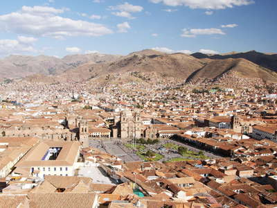 Cusco  |  Historic centre with Plaza de Armas