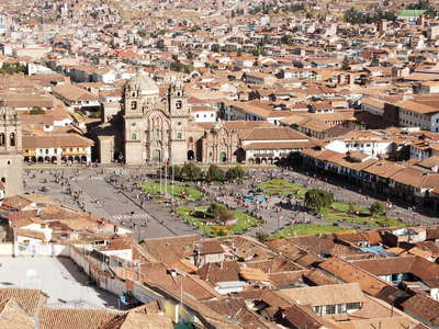 Cusco with Plaza de Armas