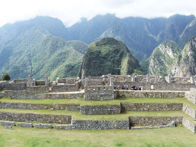 Machu Picchu  |  Intipampa and lower town