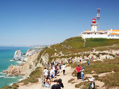 Cabo da Roca with lighthouse