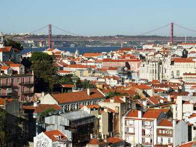 Lisboa with Ponte 25 de Abril