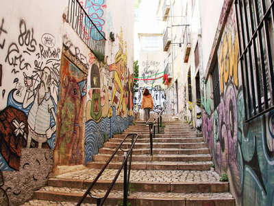 Lisboa  |  Wall paintings