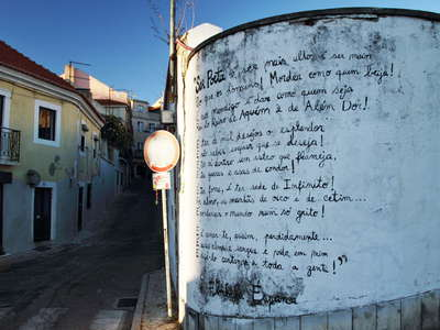 Lisboa  |  Wall poem