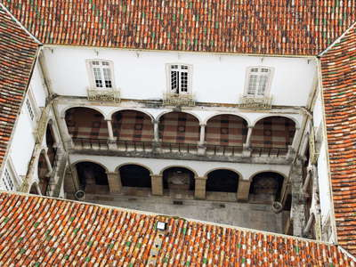 Coimbra  |  Cloister of Law Faculty