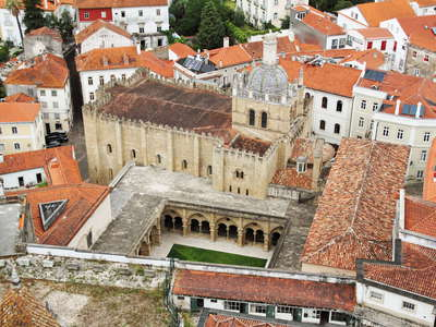 Coimbra  |  Historic centre with Sé Velha