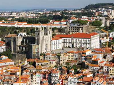 Porto with Fábrica Catedral do Porto