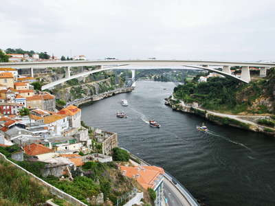 Porto  |  Rio Douro with Ponte do Infante