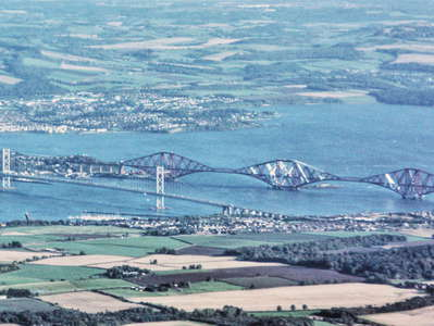 Firth of Forth with Forth bridges