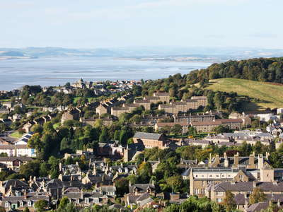 Dundee with Firth of Tay