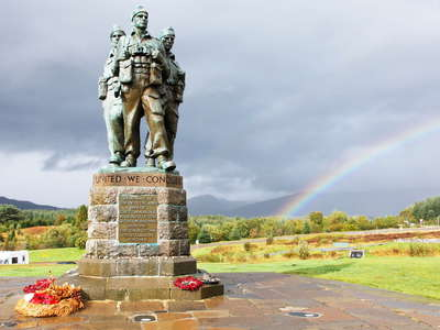 Spean Bridge  |  Commando Memorial