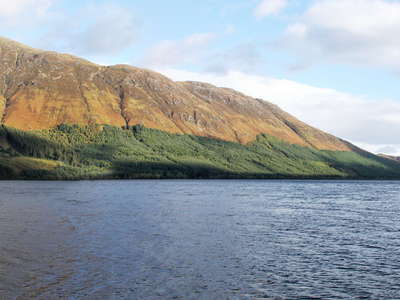 Loch Lochy panorama