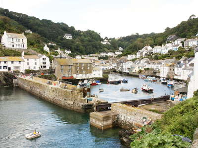 Polperro with Harbour