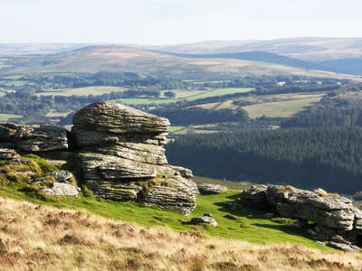 Dartmoor with tors