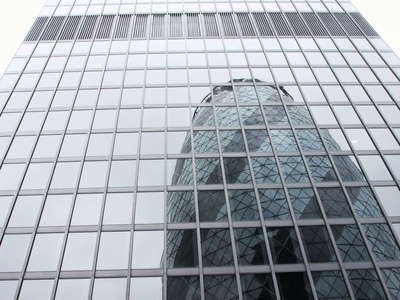 London  |  Reflection of 30 St Mary Axe