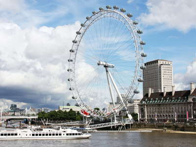 London  |  River Thames and London Eye