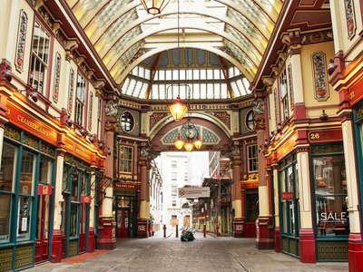 London  |  Leadenhall Market