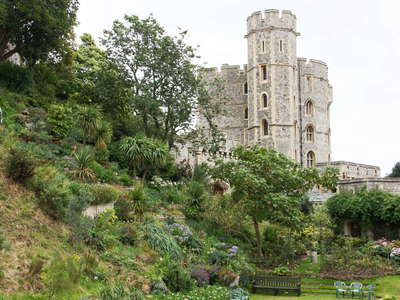 Windsor Castle  |  Moat Garden