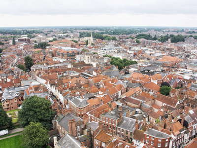 York  |  View from Minster