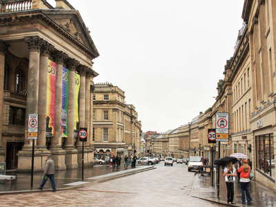 Newcastle  |  Grey Street with Theatre Royal