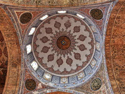 İstanbul  |  Dome of Sultan Ahmet Camii