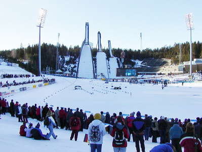 Lahti  |  Cross-country ski-tracks and ski jumping hills