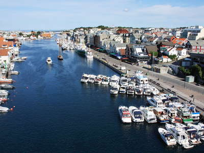 Haugesund  |  Smedasundet and town centre