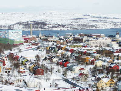 Kirkenes with Bøkfjorden