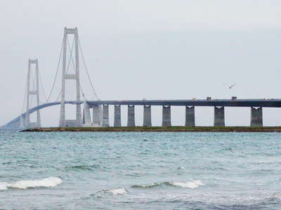 Storebælt Fixed Link  |  West Bridge