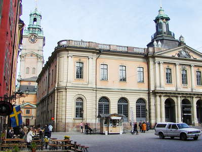 Stockholm  |  Stortorget with Stock Exchange Building
