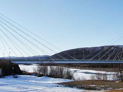 Utsjoki  |  Sami Bridge