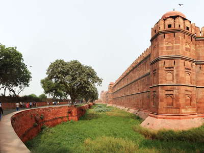 Delhi  |  Red Fort panorama
