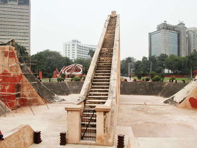 New Delhi  |  Jantar Mantar with Samrat Yantra