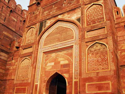Agra Fort  |  Entrance gate