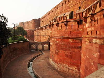 Agra Fort  |  Moat