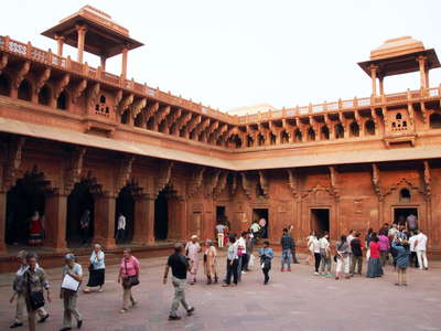 Agra Fort  |  Cloister of Jahangir Palace