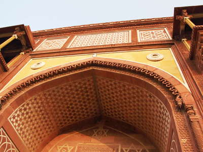 Agra Fort  |  Entrance gate to Jahangir Palace