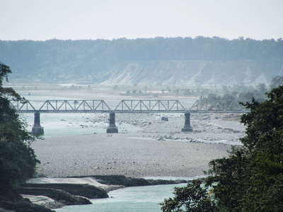 Sevoke  |  Teesta River with Teesta Rail Bridge
