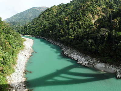 Sevoke  |  Teesta River with Coronation Bridge