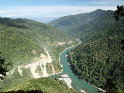 Teesta Valley  |  Confluence with Rangeet River