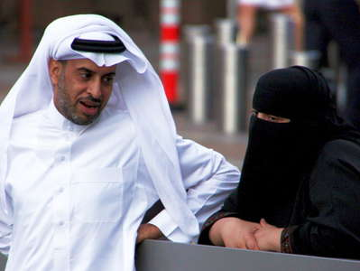 Dubai  |  People in Downtown Dubai