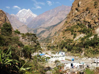 Kali Gandaki Valley  |  Tatopani and Nilgiri South