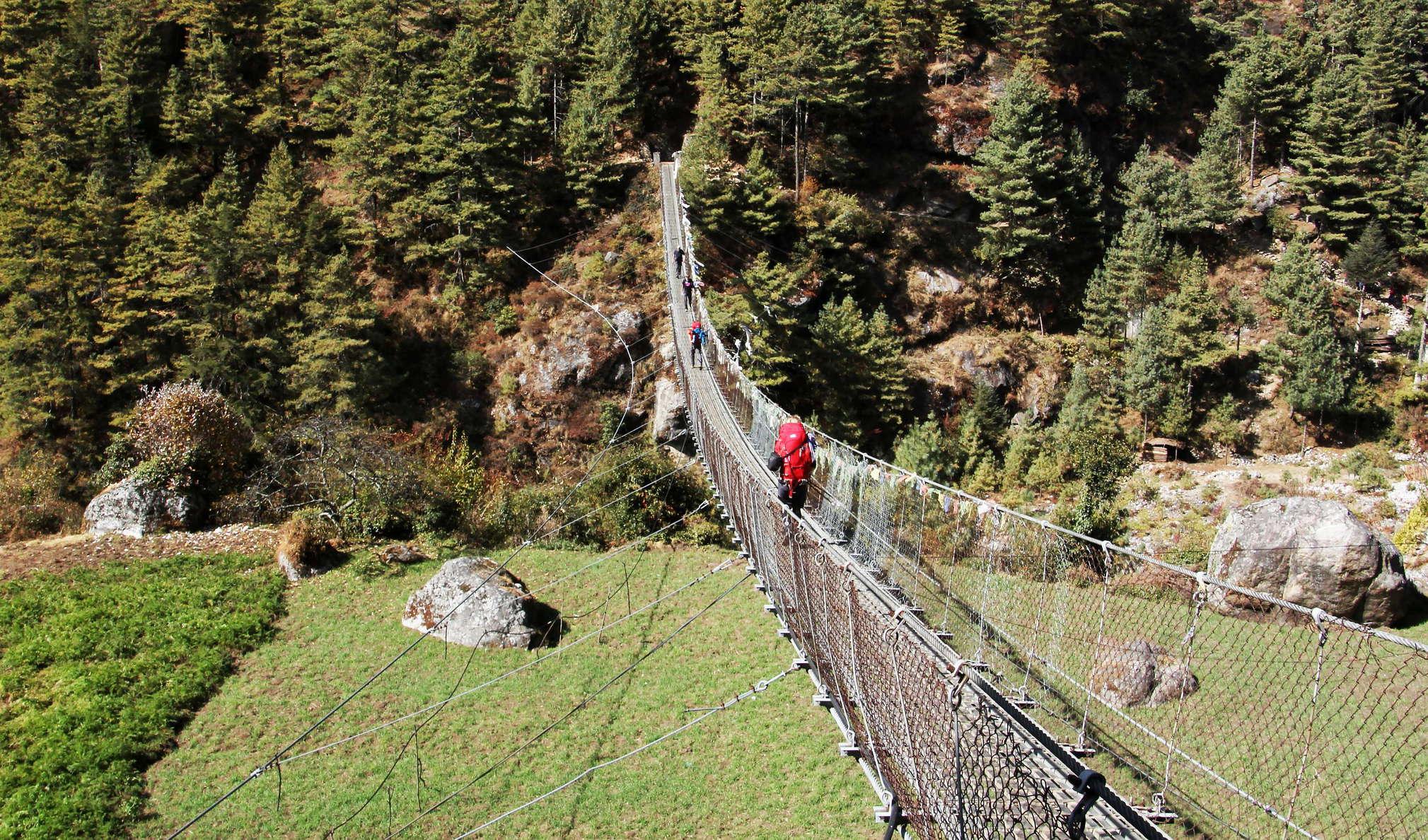 Jorsalle | Suspension bridge | The world in images