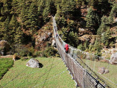 Jorsalle  |  Suspension bridge