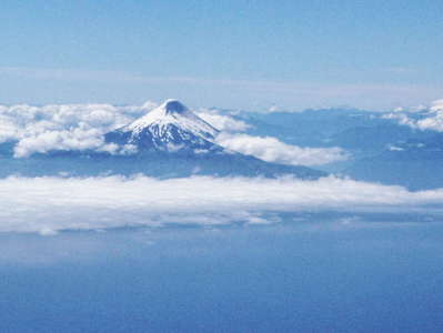 Lago Llanquihue with Volcán Osorno and Tronador