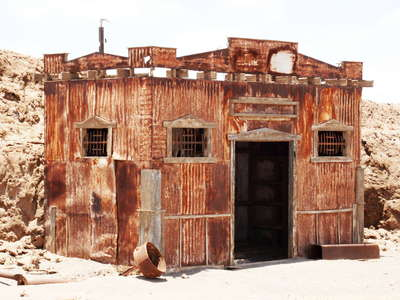 Humberstone  |  Building in the historic mining town