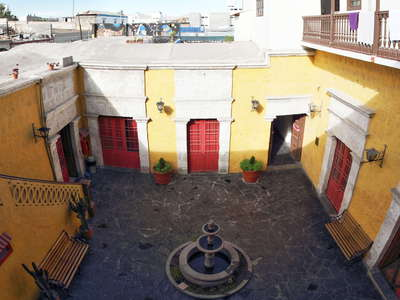 Arequipa  |  Patio in the historic centre