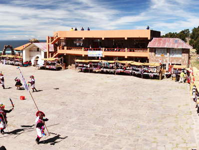 Isla Taquile  |  Festival at the main square