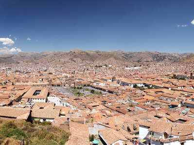 Cusco  |  Panoramic view