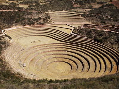 Moray  |  Agricultural terraces