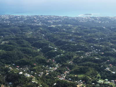Guadeloupe | Grande-Terre with karst features